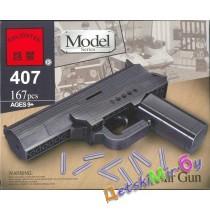 """""""Конст-р""""(Brick) """"Стреляющий пистолет-конструктор"""""""